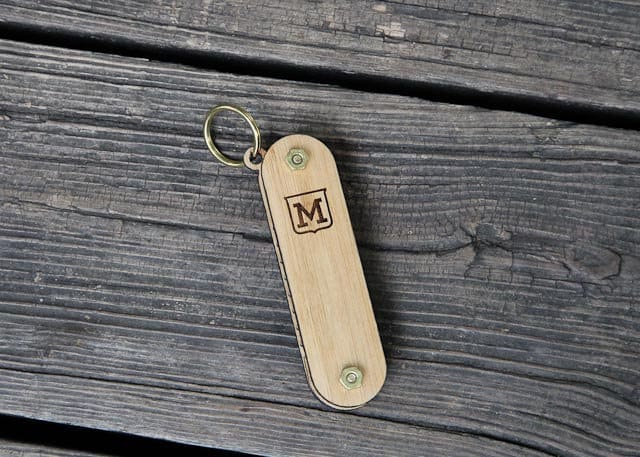 miniFab Personalized Pocket Beard Comb Gift for Him to Buy