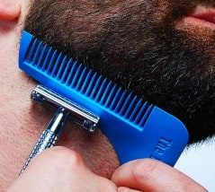 Get your beard in shape.