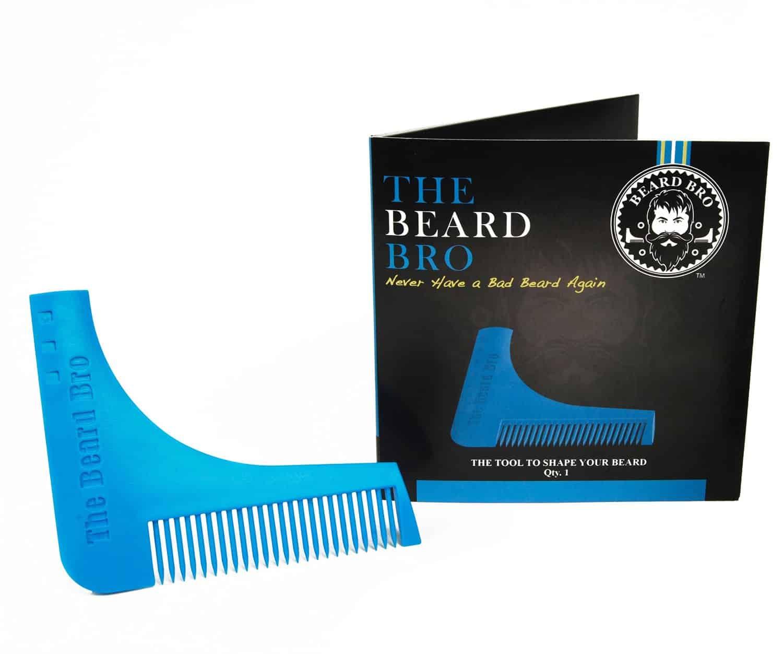 Beard Bro Beard Shaping Tool Noveltystreet