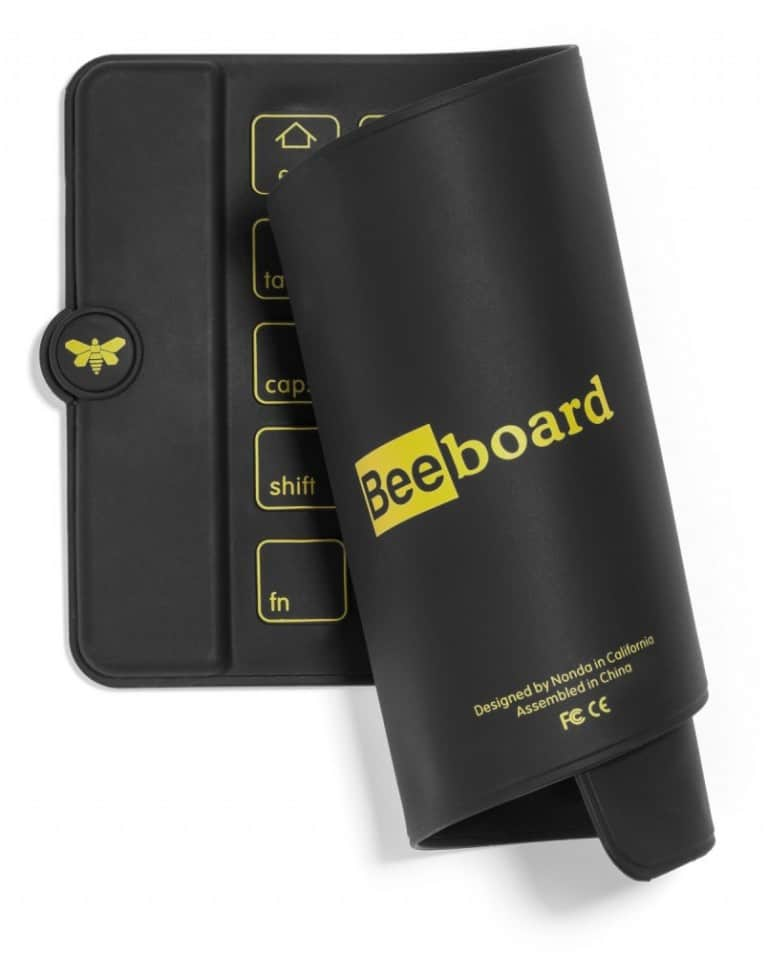 Beeboard Rechargeable Foldable Keyboard Buy Cool Gadget
