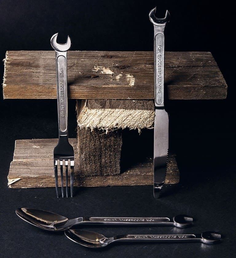 Diesel By Seletti Machine Collection Cutlery Set Gift Ideas For Him