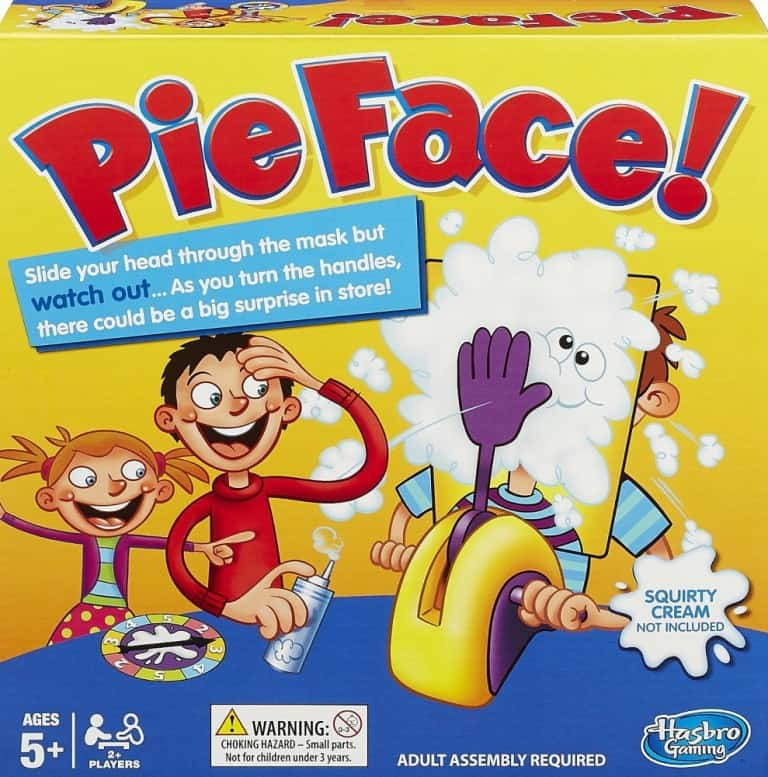 Hasbro Pie Face Buy Messy Toys