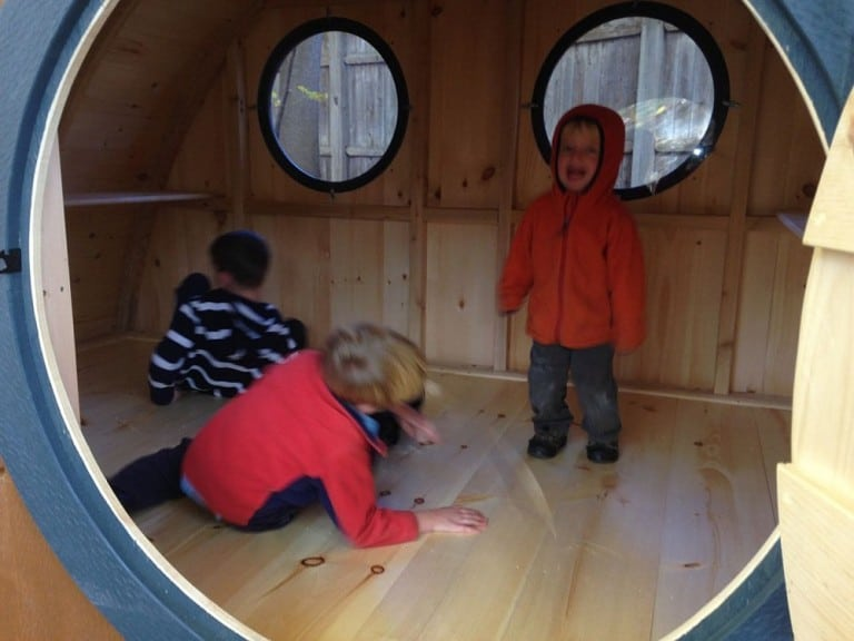 Hobbit Holes Hobbit Playhouse Kit Circular Doorway