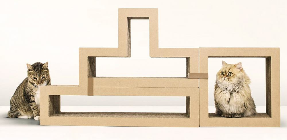Katris Modular Cat Scratcher Home Furniture For Pet Lovers