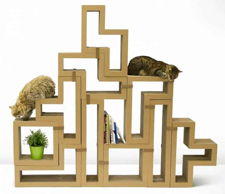 Katris Modular Cat Scratcher Kittys Play Pen