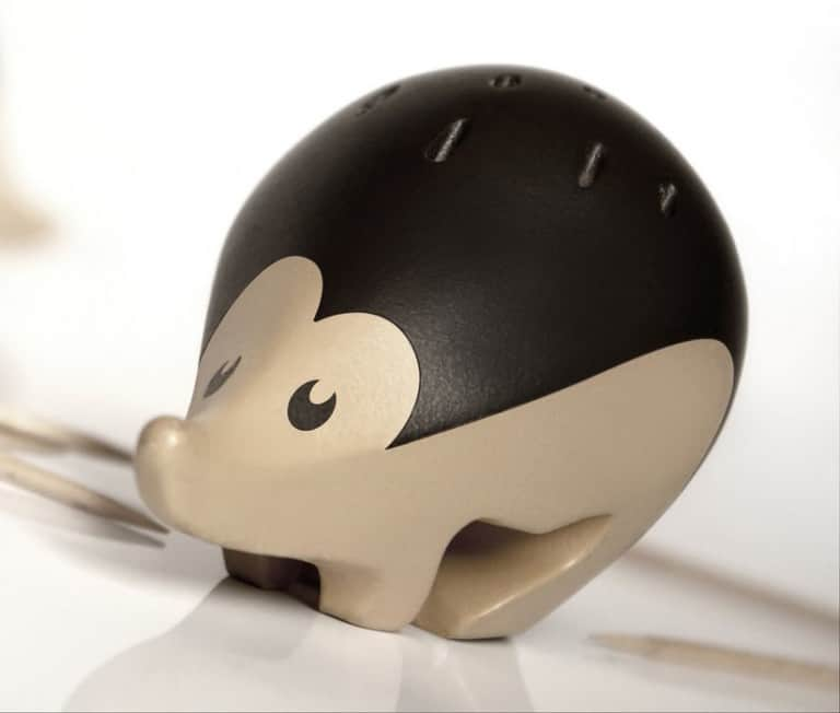 Kipik Cocktail Stick Holder Bald Hedgehog