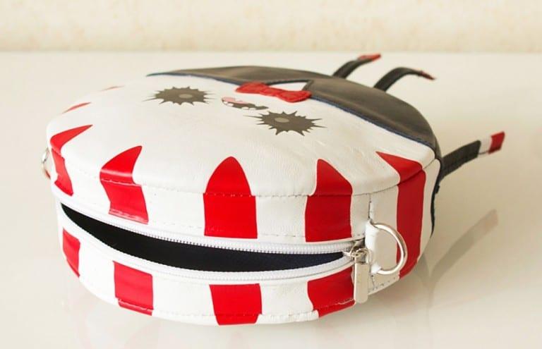 Krukru Studio Peppermint Butler Leather Purse Creative Novelty Items