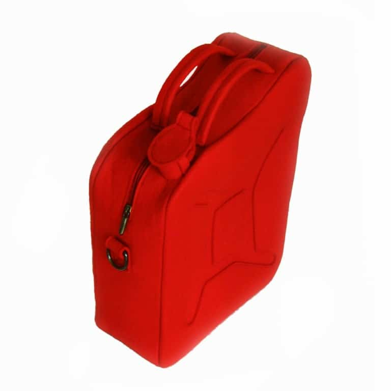 Krukru Studio Red Gas Can Bag Cool Design