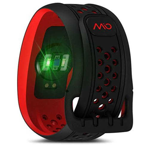 Mio Fuse Heart Rate Training + Activity Tracker Exercise Gear