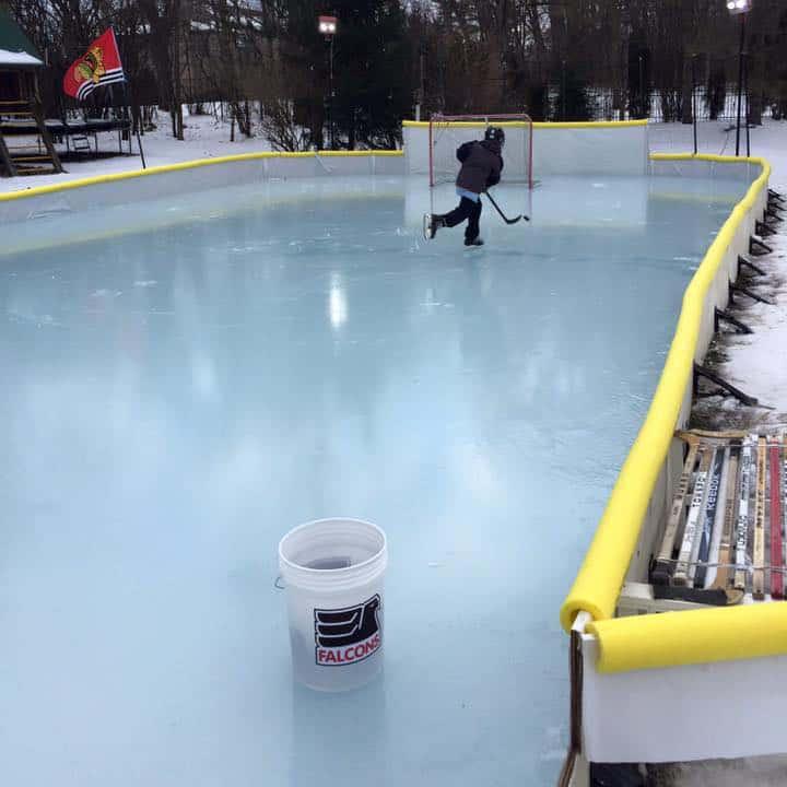 Nicerink Backyard Ice Rink Kit - NoveltyStreet
