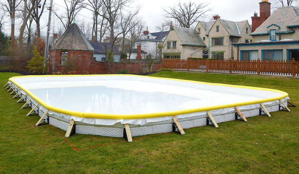 Nicerink Backyard Ice Rink Kit - NoveltyStreet