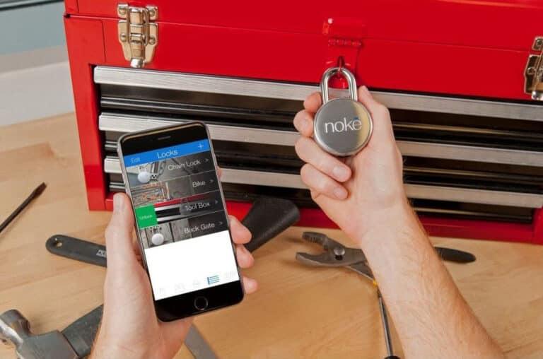 Noke Keyless Bluetooth Smart Padlock Mobile App