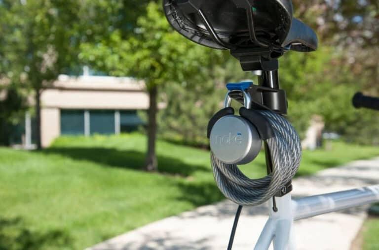 Noke Keyless Bluetooth Smart Padlock Stylish Lock