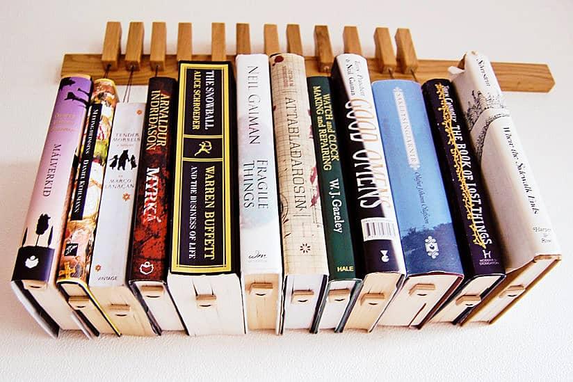 Hanging Book Rack old and cold hanging book rack - noveltystreet