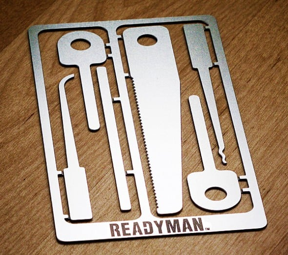 Readyman Hostage Escape Survival Card Emergency Tool to Buy
