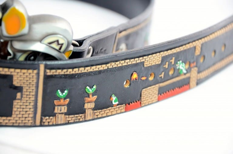 Saluki Feathers Super Mario Belt Fun Thing To Wear To A Party