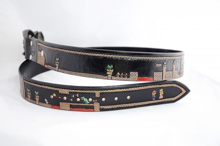 Saluki Feathers Super Mario Belt Gamers Must Have