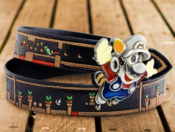 Saluki Feathers Super Mario Belt Gift Ideas For Kids