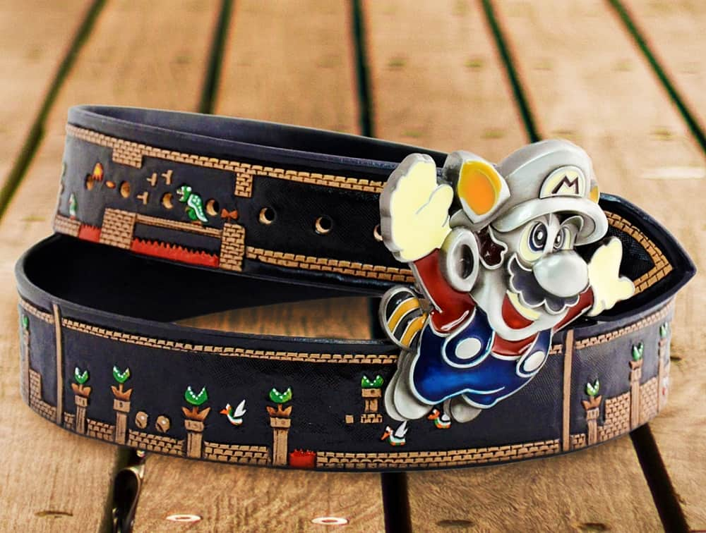 Buckle up with Super Mario!