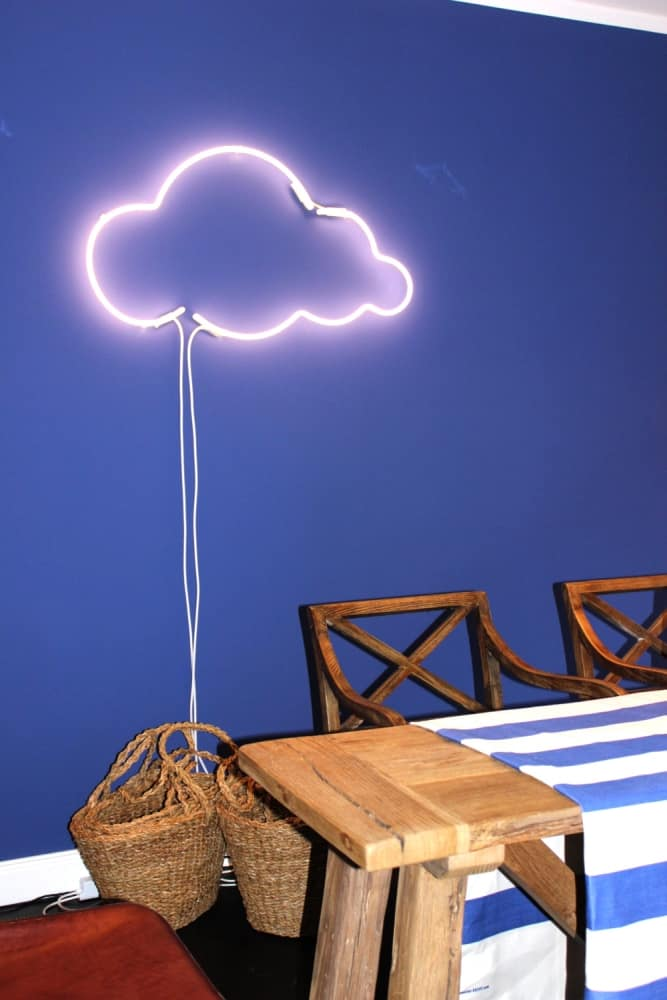 Sygns Cloud 9 Le Petit Prince Inspired Neon Sign Playful Dining Room Design