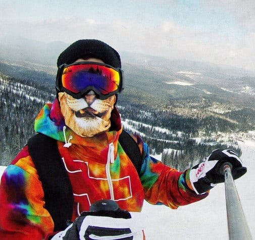 Teya Salat Animal Ski Mask Lion Bandana