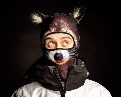 Teya Salat Animal Ski Mask Racoon Balaclava