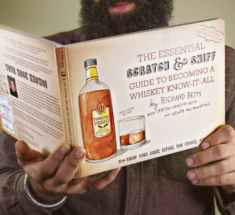The Essential Scratch & Sniff Guide to Becoming a Whiskey Know-It-All Book for People who like Alcohol