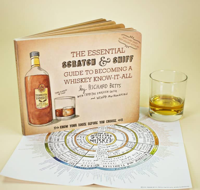 The Essential Scratch & Sniff Guide to Becoming a Whiskey Know-It-All Gift Idea For Him