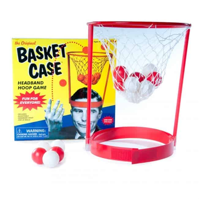 The Original Basket Case Headband Hoop Game Gift Idea for Kids