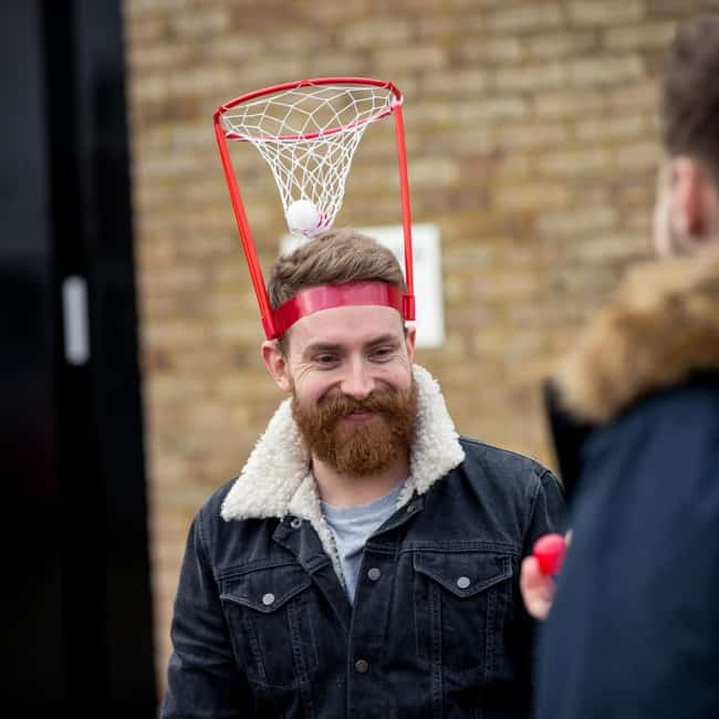 The Original Basket Case Headband Hoop Game Unique Fun Idea