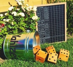Yahtzee on your backyard!
