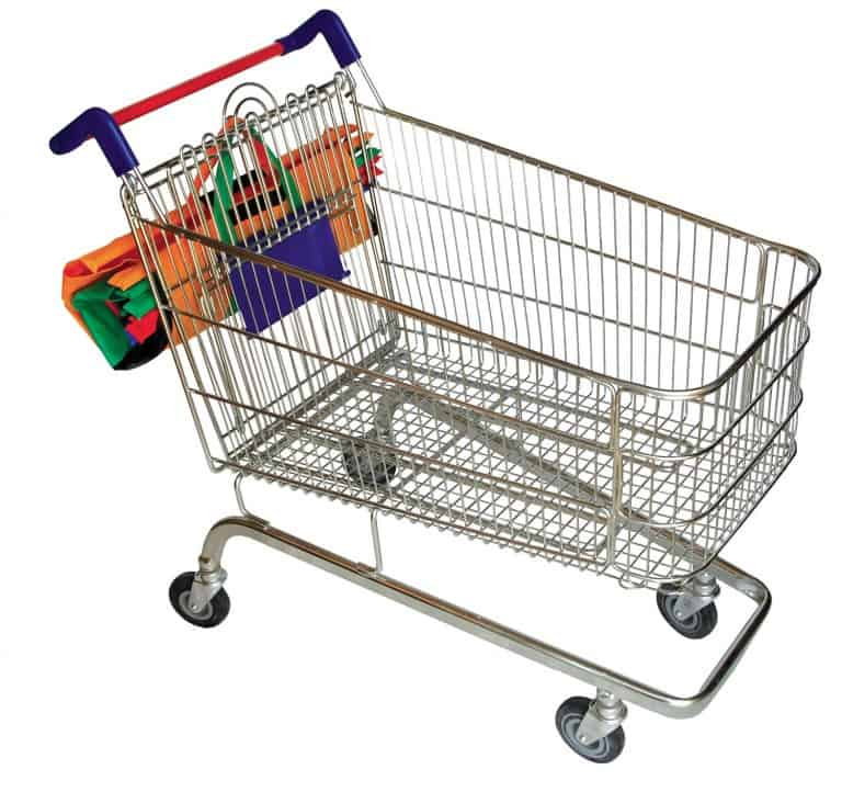 Trolley Bags Shopping Cart Folded