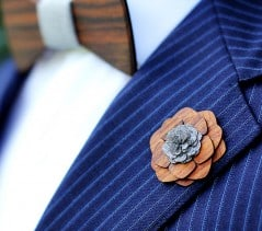 Classy, manly, and flowery all at the same time.