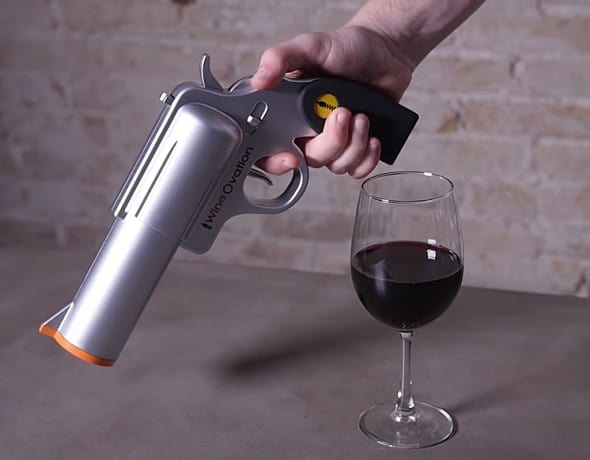 WineOvation Powered Wine Opener Gun Buy Fun Party Tool