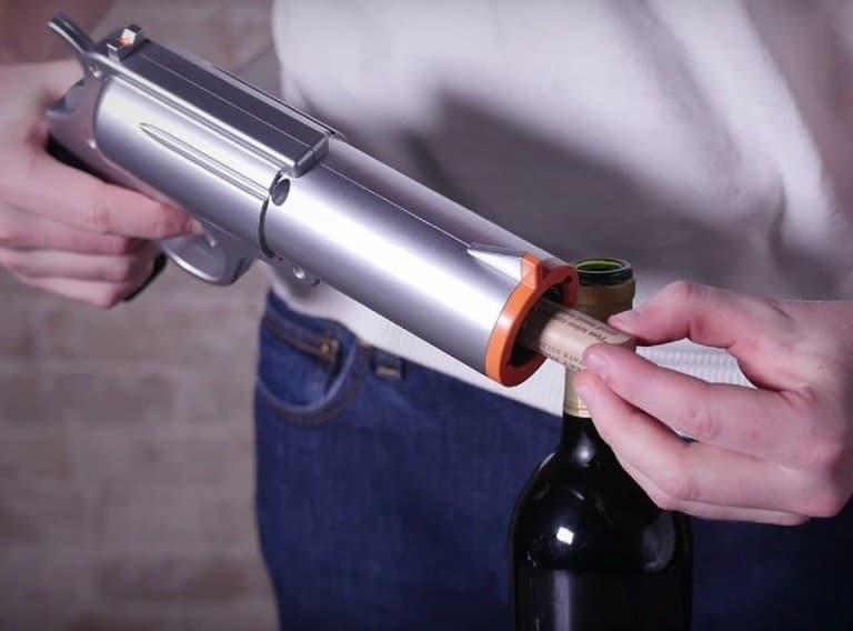 WineOvation Powered Wine Opener Gun Easy Way to Open