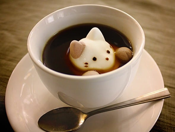 Yawahada Cafe Cat Marshmallow Pack Cute Stuff to Buy