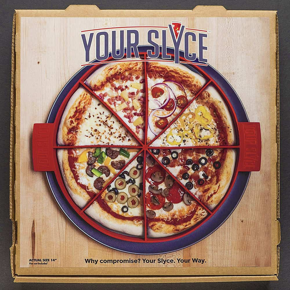 Your Slyce Pizza Personalization Buy Cool Kitchen Product