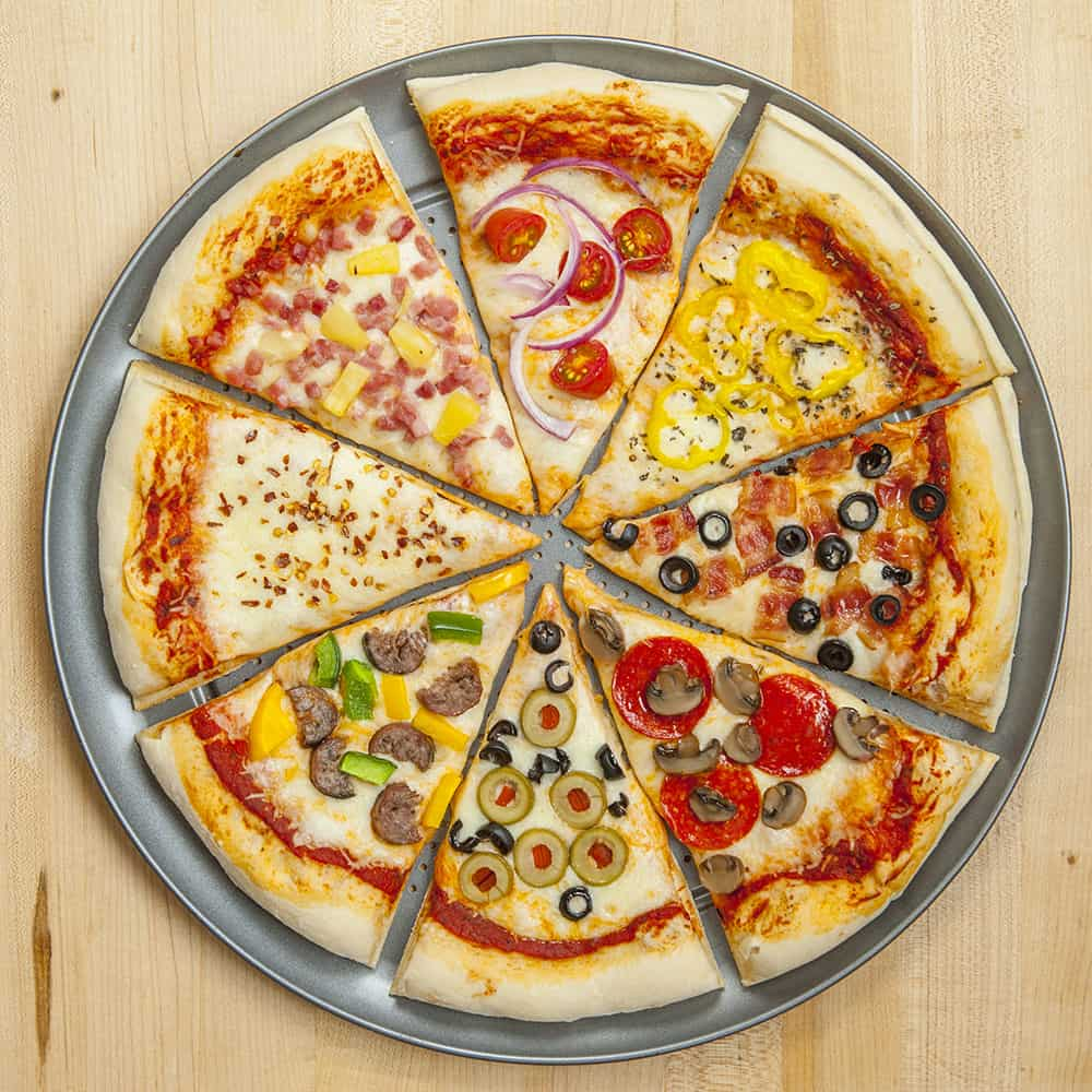 Your Slyce Pizza Personalization Custom Toppings