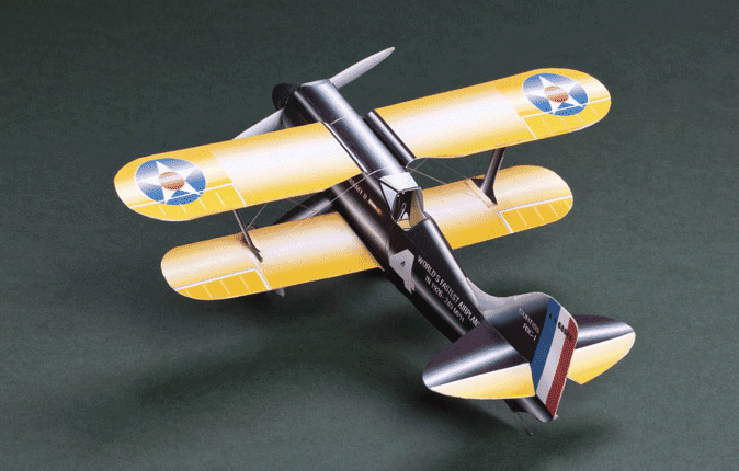 Huntlys Paper Warplanes Kits Curtiss R3C-1 Racer