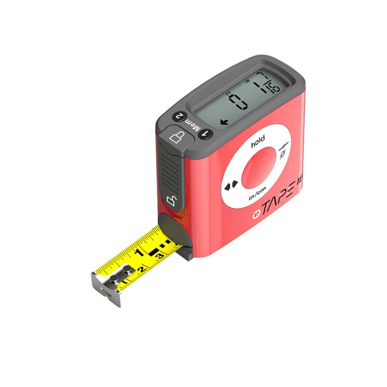 eTape16 Polycarbonate Digital Tape Measure Cool Carpenter Gadget