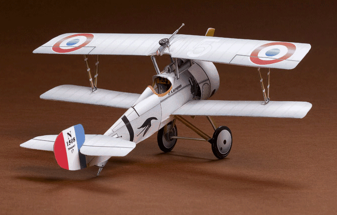 Huntlys Paper Warplanes Kits Nieuport 17