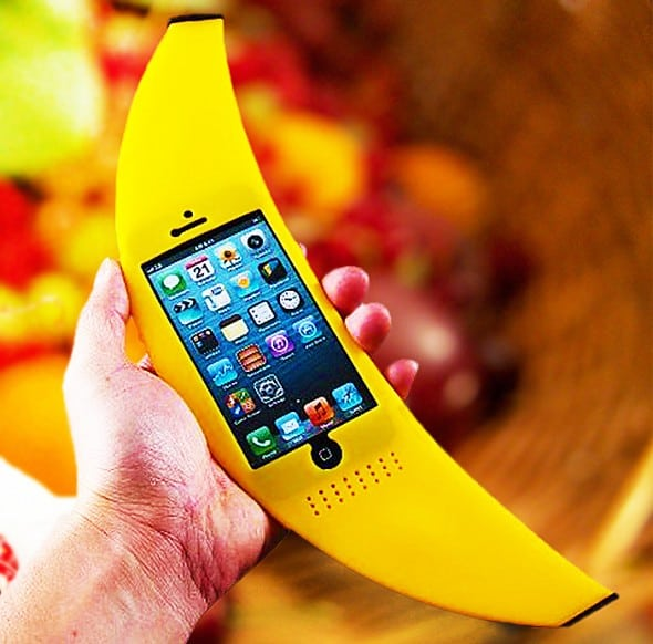 Big Banana iPhone Case Buy Cute Novelty Items