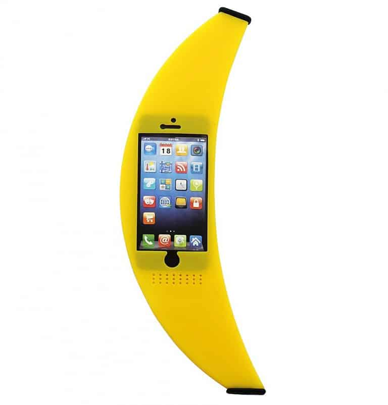 Big Banana iPhone Case Creative Food Design Stuff