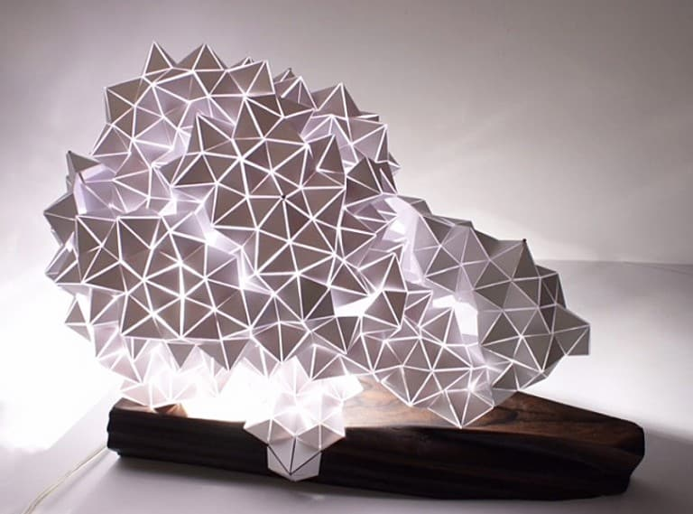 Britta Gould Geodesic Table Light Sculpture House Warming Gift Idea