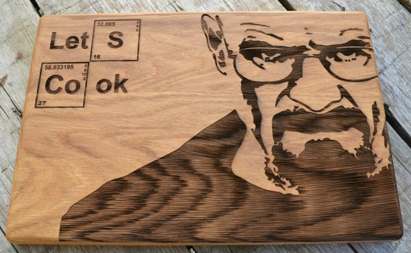 Cutting Board Gift Heisenberg Let's Cook Cutting Board Buy Cool Kitchen Tools