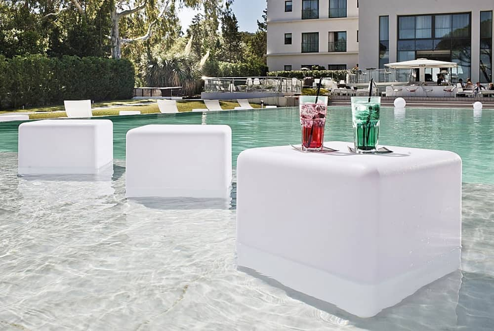 Design Kollection Outdoor LED Light Cube Cool Things To Have In A Party