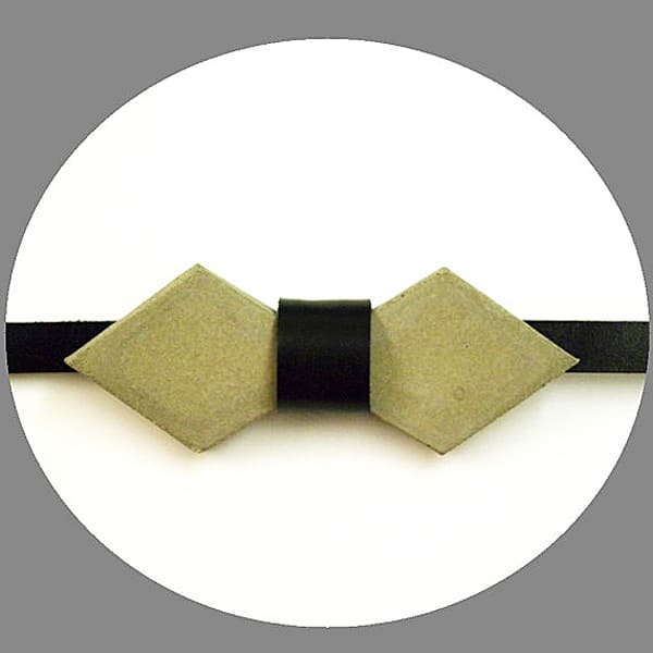 Frame Lab Concrete Cement Arrow Bow tie Cute Men Accessory