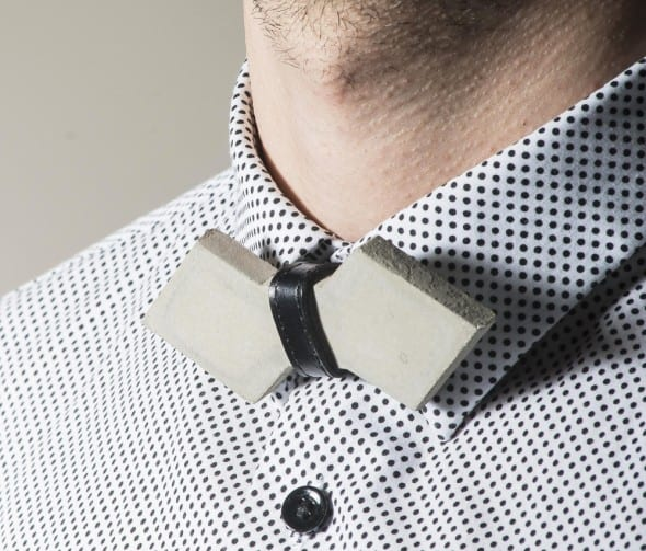 Frame Lab Concrete Cement Arrow Bow tie Gift Idea For Him