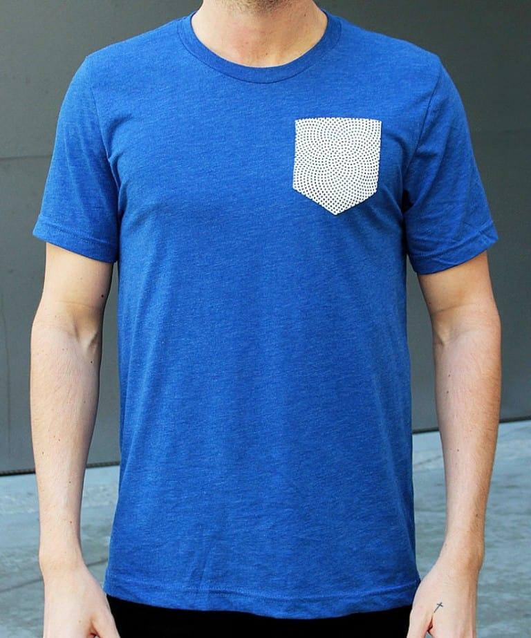 Genius Microfiber Pocket Tee Unique Gadget Friendly Clothes