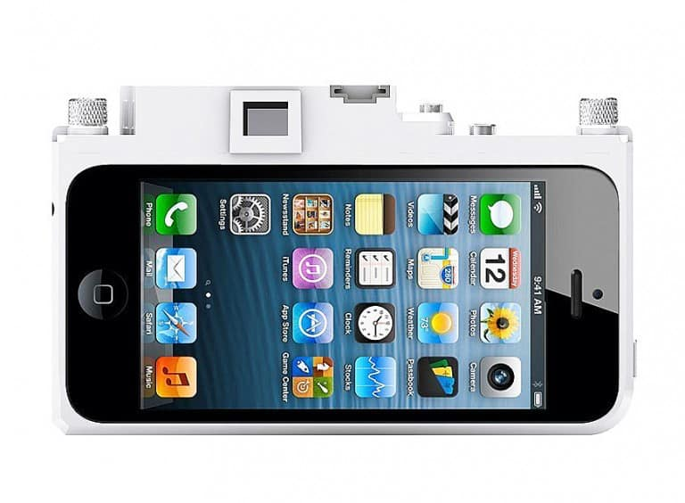 Gizmon iCA5 Camera iPhone Case Cute Gadget Accessory